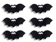 Flying Bats Sugar Decorations